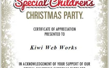 Proudly Supporting the Special Children's Christmas Party